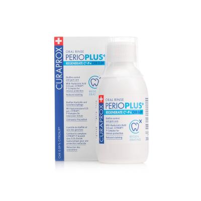 Ополаскиватель для Полости Рта с Гиалуроновой Кислотой и Хлоргексидин 0.09% Curaprox Perio Plus Regenerate 200 мл