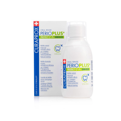 Ополаскиватель для Полости Рта с Хлоргексидином 0.12% Curaprox Perio Plus Protect 200 мл
