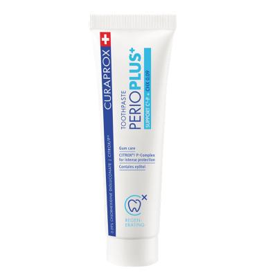 Зубная Паста с Гиалуроновой Кислотой и Хлоргексидина 0,09% Curaprox Toothpaste Perio Plus Support 75 мл