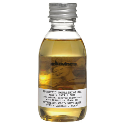 Питательное Масло для Лица/Волос/Тела Davines Authentic nourishing oilface/hair/body 140 мл