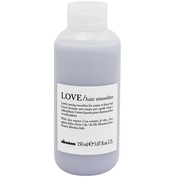 Разглаживающий Несмываемый Крем для Кудрявых Волос Davines LOVE/hair smoother 150 мл