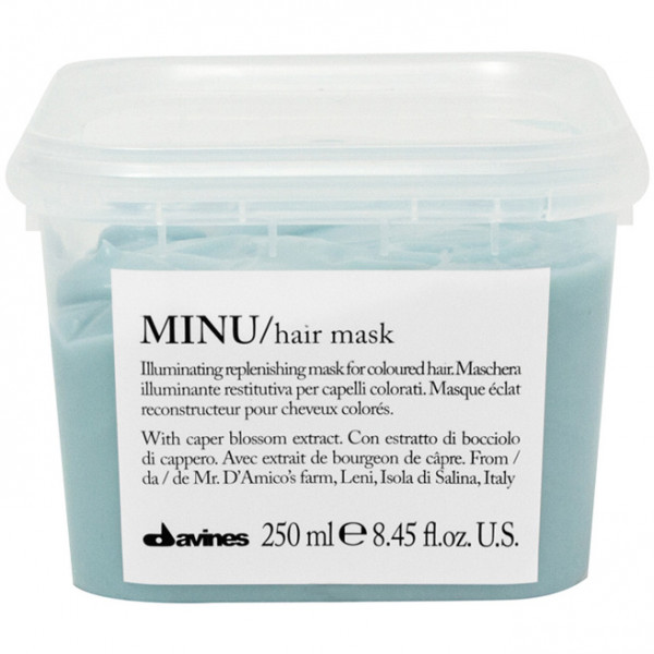 Восстанавливающая Маска для Окрашенных Волос Davines MINU/hair mask 250 мл