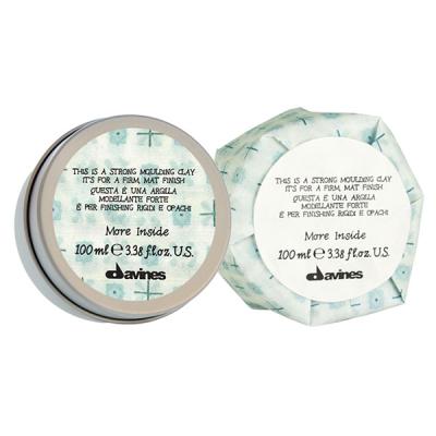 Моделирующая Глина Сильной Фиксации Davines More Inside Strong Moulding Clay 70 мл