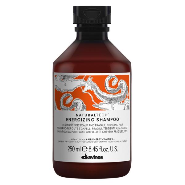 Шампунь для Волос Энергетический Davines Natural Tech Energizing Shampoo 250 мл