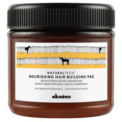 Маска для Волос Питательная Восстаналивающая Davines Natural Tech Nourishing Hairbuilding Pak 250 мл