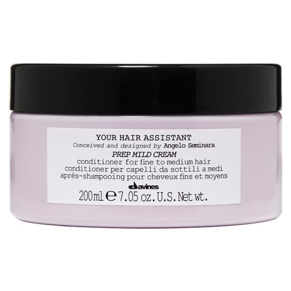 Мягкий Кондиционер для Тонких и Нормальных Волос Davines Your Hair Assistant Prep Mild Cream 200 мл