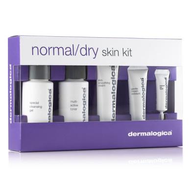 Набор для Нормальной и Сухой Кожи Dermalogica Skin Kit Dry 5 шт (2х50 мл+2х22 мл+4 мл)