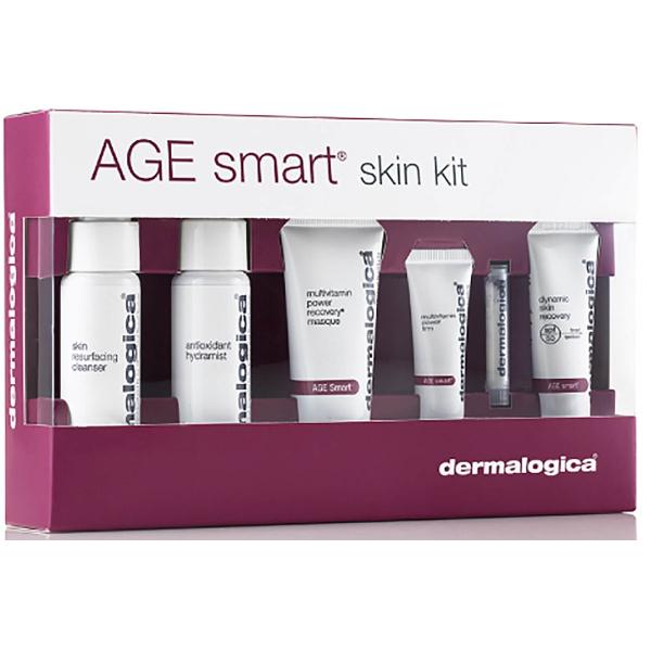 Набор для Противовозрастного Ухода Dermalogica Age Smart Kit 6 шт (2х30 мл+15 мл+10 мл+5 мл+1 шт)