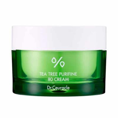 Крем с Экстрактом Чайного Дерева Dr. Ceuracle Tea Tree Purifine 80 Cream 50 мл