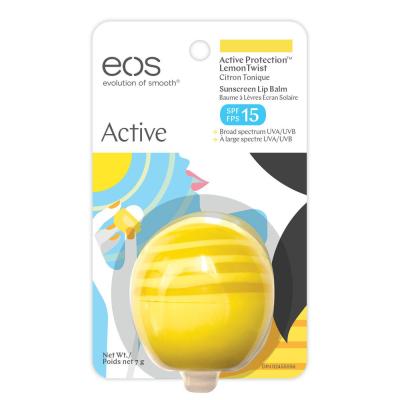 Бальзам для Губ EOS Lemon Twist с Ароматом Лимона и Защитой SPF 15 - 7 г