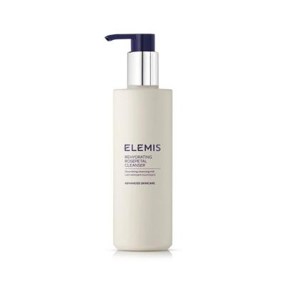 Очищающие и Увлажняющие Молочко с Экстрактом Лепестков Роз Elemis Rehydrating Rosepetal Cleanser 200 мл