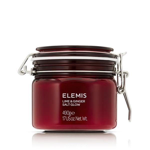 Солевой Пилинг для Тела Лайм-имбирь Elemis Exotic Lime & Ginger Salt Glow 490 г