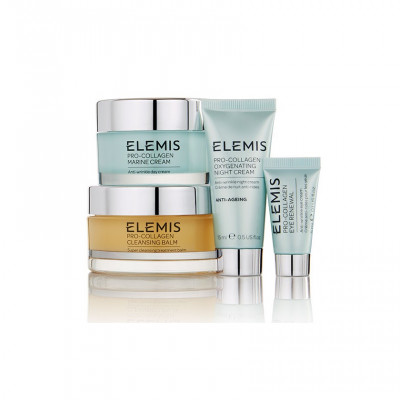 Набор Про-Коллаген 4-х Этапный Уход Elemis Pro-Collagen 4-Step Collection