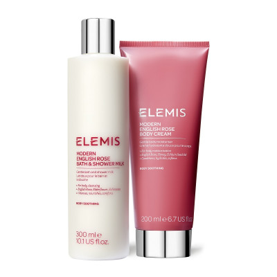 "Набор Дуэт для Тела ""Современная Английский Роза"" Elemis Modern English Rose Body Duo"