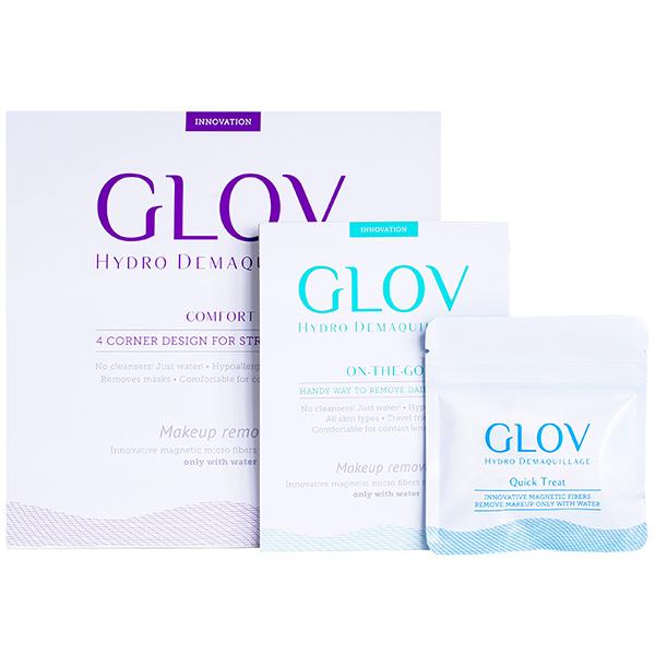 Платиновый Подарочный Набор Рукавичек для Снятия Макияжа GLOV Platinum Set