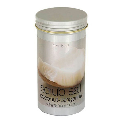 Соль-Скраб Кокос-Мандарин Greenland Scrub Salt Coconut & Tangarine 400 г