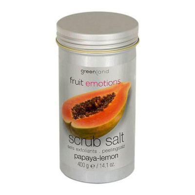 Соль-Скраб Папайя-Лимон Greenland Scrub Salt Papaya & Lemon 400 г