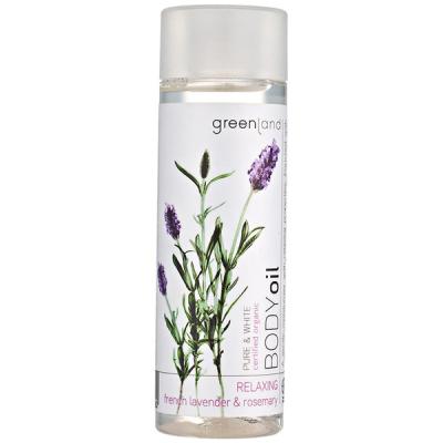 Масло для Тела  «Французская Лаванда-Розмарин» Greenland Pure & White body oil french lavender-rosemary 150 мл