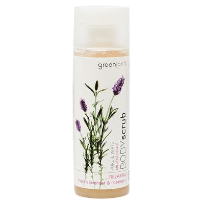 Скраб для Тела «Французская Лаванда-Розмарин» Greenland Pure & White body scrub french lavender & rosemary 200 мл