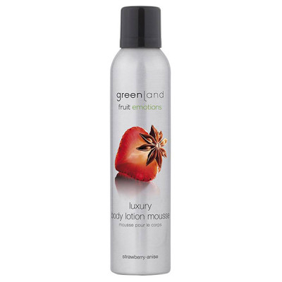 Лосьон-Мусс для Тела «Клубника-Анис» Greenland Fruit Emotions body lotion mousse strawberry-anise 200 мл