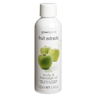 Масло для Тела и Массажа «Яблоко» Greenland Fruit Extracts body & massage oil apple 100 мл