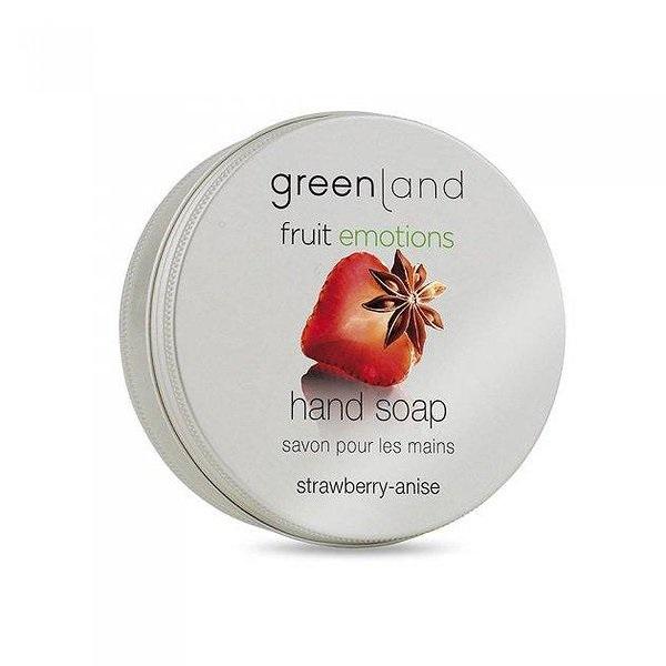 Мыло для Рук «Клубника-Анис» Greenland Fruit Emotions Hand Soap Strawberry & Anise 100 г