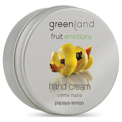Крем для Рук «Папайя-Лимон» Greenland Fruit Emotions hand cream papaya-lemon 50 мл
