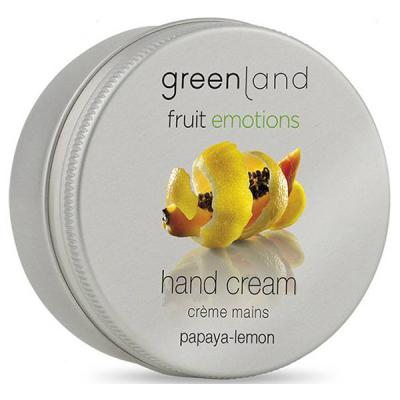 Крем для Рук «Папайя-Лимон» Greenland Fruit Emotions hand cream papaya-lemon 50 мл