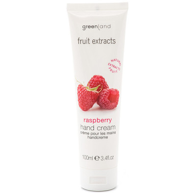 Крем для Рук «Малина» Greenland Fruit Extracts hand cream raspberry 100 мл