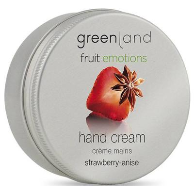 Крем для Рук «Клубника-Анис» Greenland Fruit Emotions hand cream strawberry-anise 50 мл