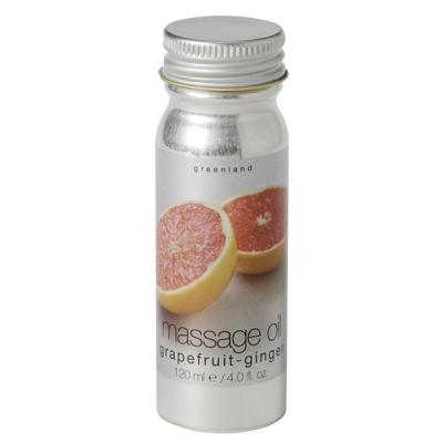 Масло для Массажа «Грейпфрут-Имбирь» Greenland Fruit Emotions massage oil grapefruit-ginger 120 мл