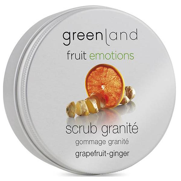 Скраб-Щербет для Тела «Грейпфрут-Имбирь» Greenland Fruit Emotions scrub granité grapefruit-gember 200 мл