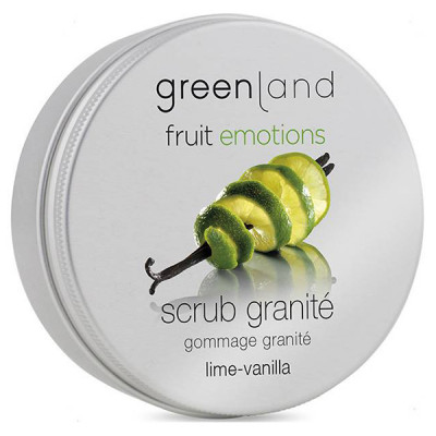 Скраб-Щербет для Тела «Лайм-Ваниль» Greenland Fruit Emotions scrub granité lime-vanilla 200 мл