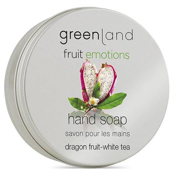 Мыло для Рук «Питайя-Белый Чай» Greenland Fruit Emotions soap dragon fruit-white tea 100 г