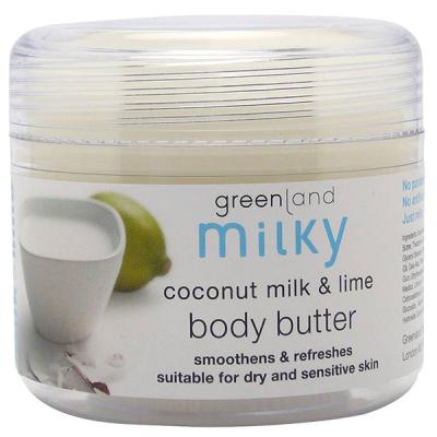 Крем для Тела «Кокосовое Молочко-Лайм» Greenland Milky body butter coconut milk & Lime 150 мл