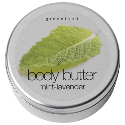 Крем для Тела «Ментол-Лаванда» Greenland Fruit Emotions body butter mint & lavender 100 мл