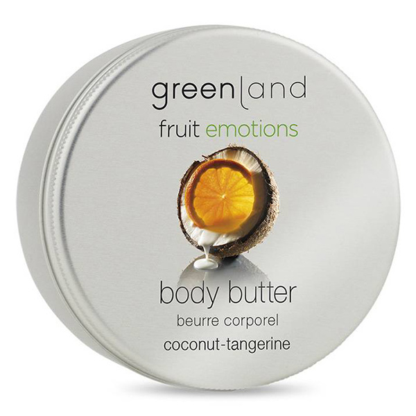 Крем для Тела «Кокос-Мандарин» Greenland Fruit Emotions body butter coconut-tangerine 100 мл