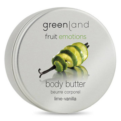 Крем для Тела «Лайм-Ваниль» Greenland Fruit Emotions body butter lime-vanilla 100 мл