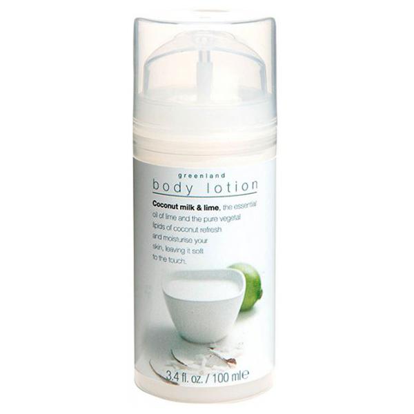 Лосьон для Тела «Кокосовое Молочко-Лайм» Greenland Milky body lotion coconut milk & lime 100 мл