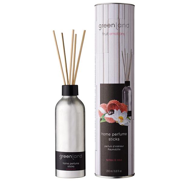Аромат для Дома «Личи-Лотос» Greenland Fruit Emotions home perfume sticks lychee & lotus 200 мл
