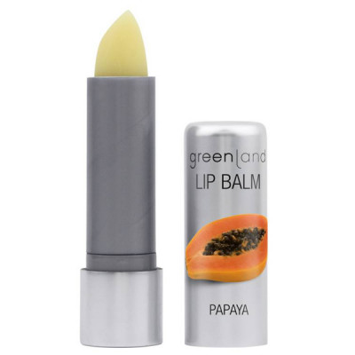 Бальзам для Губ «Папайя» Greenland Balm & butter Lip Balm papaya 3.9 г