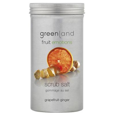 Соль-Скраб «Грейпфрут-Имбирь» Greenland Fruit Emotions scrub salt grapefruit-ginger 400 г
