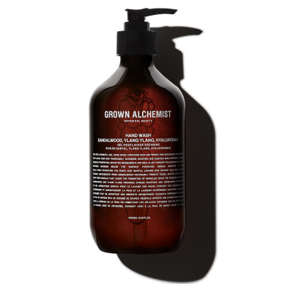 "Мыло для Рук ""Сандал, Иланг-Иланг, Гиалуронан"" Grown Alchemist Hand Wash (Sandalwood, Ylang Ylang, Hyaluronan) 500 мл"