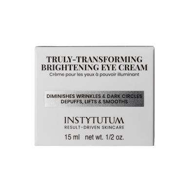 Крем-Лифтинг для Век с Осветляющим Эффектом Instytutum Truly-Transforming Brightening Eye Cream 15 мл