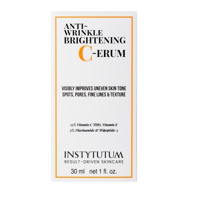 Суперконцентрированная Сыворотка с Витамином C Instytutum Anti-wrinkle Brightening C-erum 30 мл