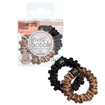 Резинка-браслет для волос Invisibobble SPRUNCHIE SLIM True Golden 2 шт