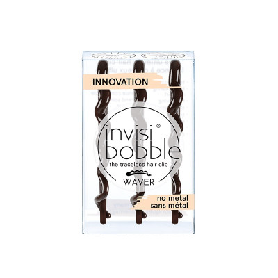 Заколка для Волос Invisibobble Waver Plus Pretty Dark 3 шт