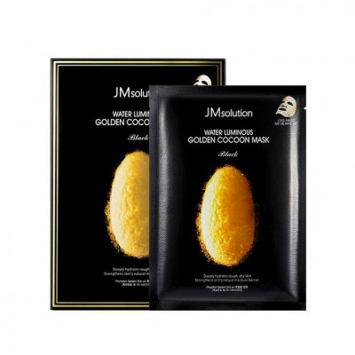 Тканевая Маска с Протеинами Кокона Золотого Шелкопряда JMsolution Water Luminous Golden Cocoon Mask