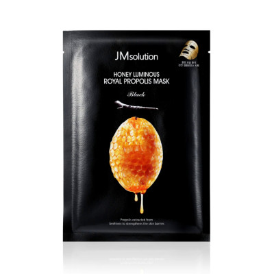 Восстанавливающая Тканевая Маска с Прополисом JMsolution Honey Luminous Royal Propolis Mask