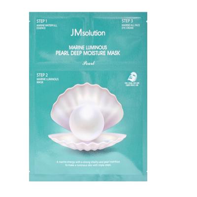 Трехшаговая Увлажняющая Маска с Жемчугом JMsolution Marine Luminous Pearl Deep Moisture Mask